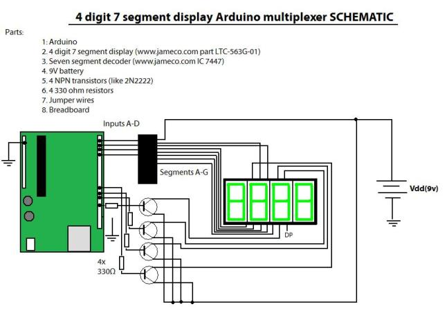 Arduino: Multiplexing with a 7 segment display – Electrical ... on 4 pin fuse, 4 pin connector, 4 pin cable, and 4 pin input diagram, 4 pin plug, 4 pin switch, 4 pin harness diagram, 4 pin wiring chart, 4 pin relay, 4 pin trailer harness, 4 pin trailer diagram, 4 pin voltage, 4 pin round trailer wiring, vga pinout diagram, 110cc wire harness diagram, 4 pin socket diagram, 4 pin fan diagram, s-video pin diagram, 4 pin wire harness, 4 pin sensor diagram,