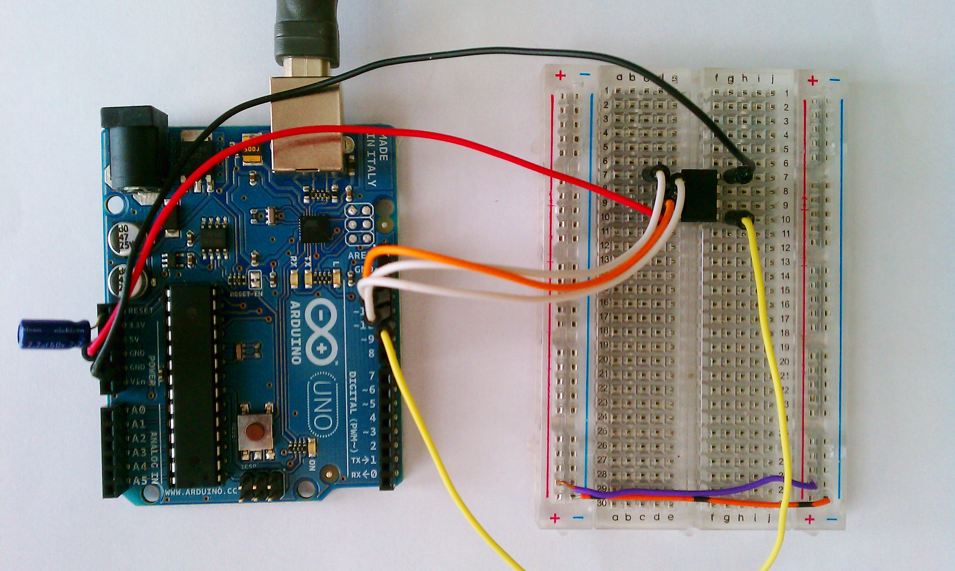 Arduino upload hex files to attiny using your